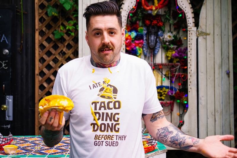 I Ate at Taco Ding Dong BEFORE they Got Sued tshirt